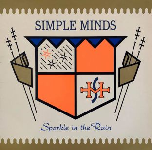 Simple Minds - Sparkle In The Rain (LP) (VG-/VG)